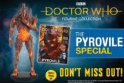 Doctor Who Figurine Collection Special #20 Pyrovile Eaglemoss